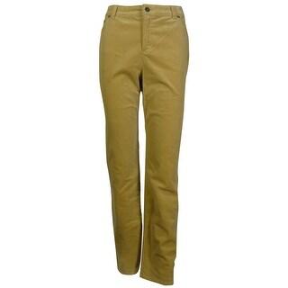 Charter Club Women's Straight Leg Corduroy Pants