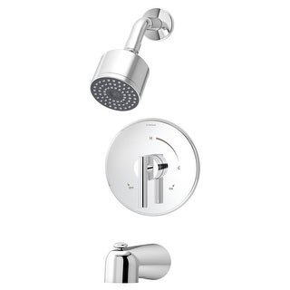 Symmons 3502-CYL-B-1.5-TRM Dia Tub and Shower Trim Only Package with Single Func