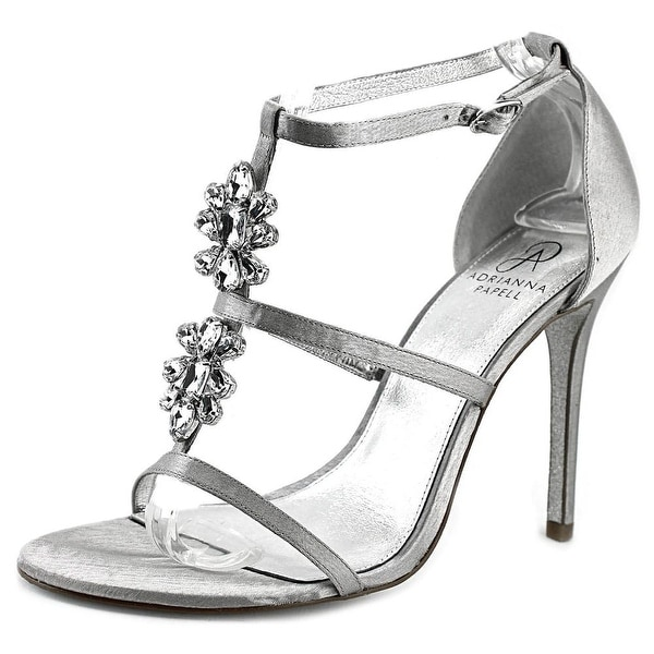 Adrianna Papell Daphne Open Toe Canvas Sandals