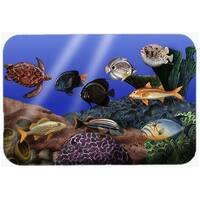 Carolines Treasures PTW2028LCB Undersea Fantasy 1 Glass Cutting Board, Large