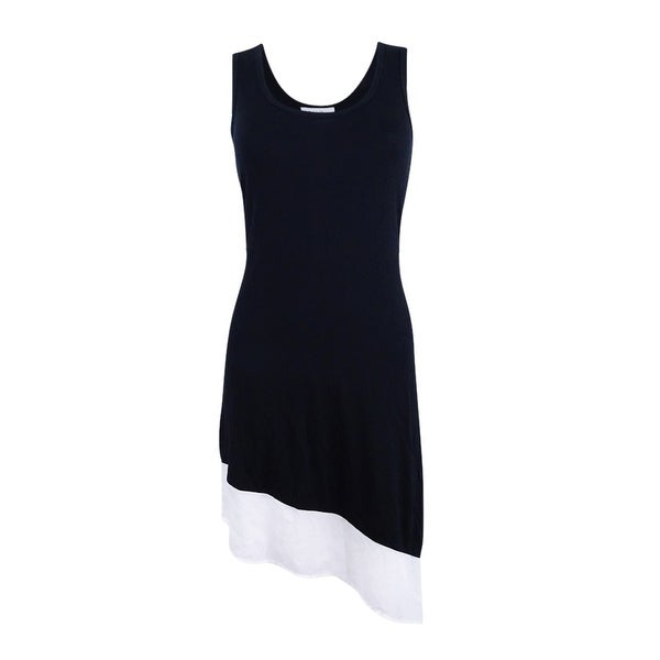 588b568537 Shop Calvin Klein Womens Asymmetrical Tank Dress Cover Up - Free Shipping  On Orders Over $45 - Overstock - 21255769