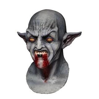 Ghoulish Masks Bloodthirst Adult Mask - grey