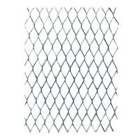 AMACO Wireform Aluminum Gallery Expandable Metal Mesh, 1/4 in Dia X 10 ft L Roll