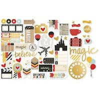 With Gold Accents - Say Cheese Ii Bits & Pieces Die-Cuts