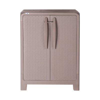 MQ Eclypse 3-Shelf Plastic Storage Cabinet