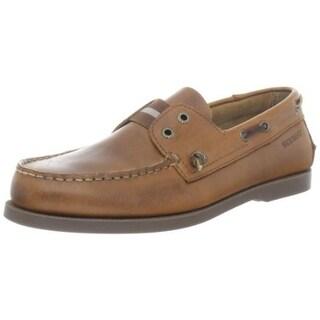 Sebago Mens Wharf Leather Slip On Oxfords - 7.5 medium (b,m)