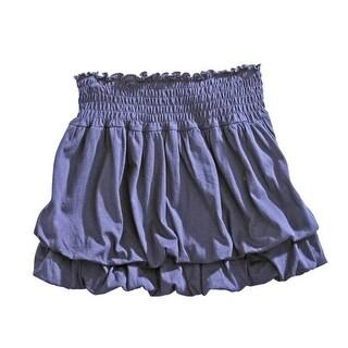 Tin Haul Western Skirt Womens Bubble Indigo 10-060-0513-0521 BU