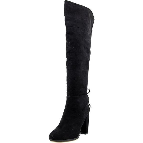 Mix No 6 Praha Round Toe Synthetic Over the Knee Boot
