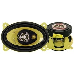 4'' x 6'' 180 Watt Three-Way Speakers