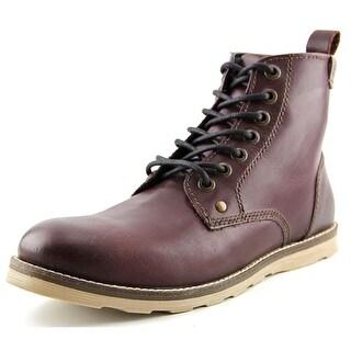 Crevo Ranger Men Round Toe Leather Boot