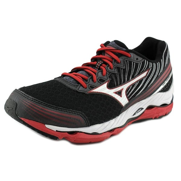 Mizuno Wave Paradox 2 Men Round Toe Synthetic Black Running Shoe