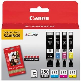 Canon 6497B004M PGI-250/CLI-251 CMY Combo Pack