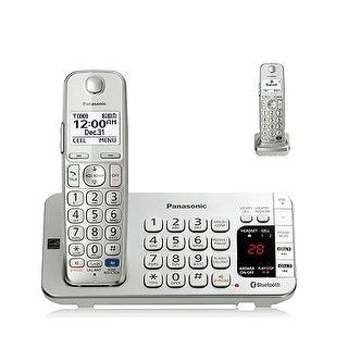 Refurbished Panasonic KX-TGE272S 2 Handset Cordless Phone DECT 6.0 Technology
