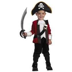 El Capitan Pirate Child Toddler Halloween Costume