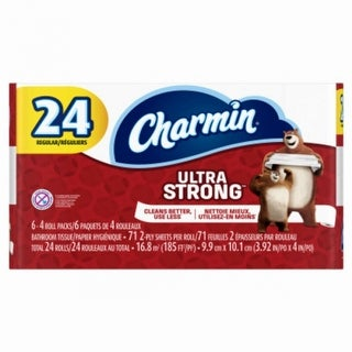 Charmin 99016 Ultra Strong 2-Ply Toilet Paper, 24-Regular Roll