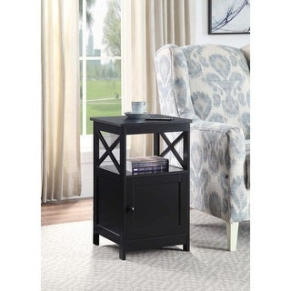 Link to Copper Grove Kremenchuk End Table with Cabinet Similar Items in Living Room Furniture