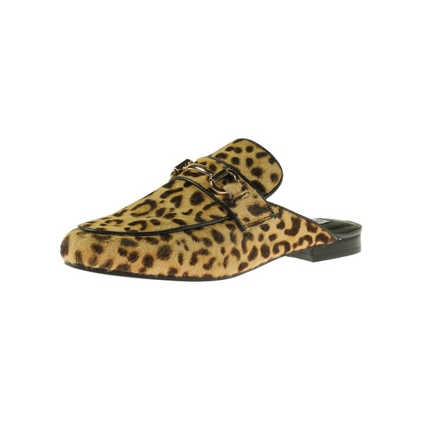 128a67def59b Shop Steve Madden Womens Kandi-l Mules Calf Hair Animal Print - Free ...