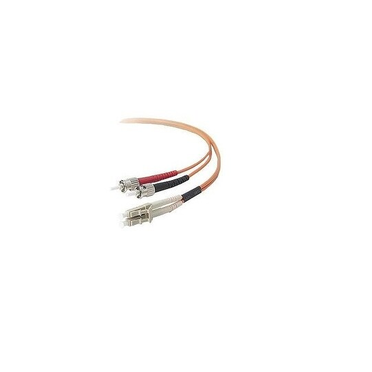 Belkin Components - Network Cable - Lc - Male - St - Male - 16 Ft - Fiber Optic - 62.5 / 125 Micron