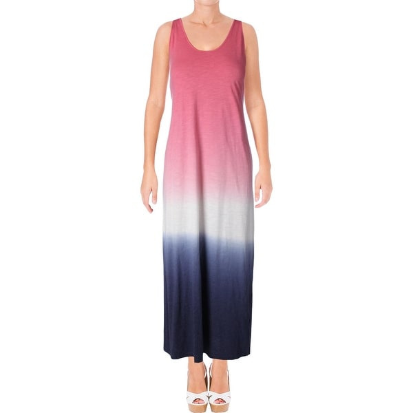 Shop Tommy Hilfiger Womens Maxi Dress Jersey Ombre Free