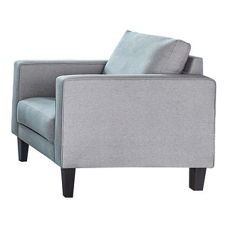 Link to Lennox Charcoal Track Arm Upholstered Chair Similar Items in Accent Chairs
