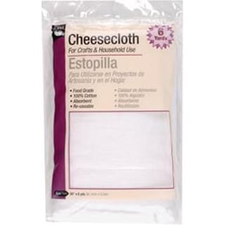 "36""X6yd - Cheesecloth Packaged"