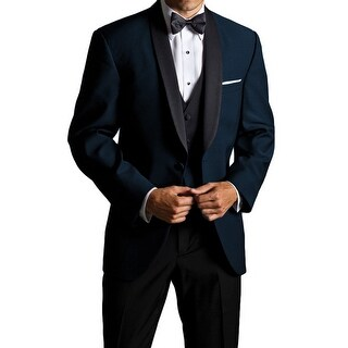 Michael Craig Big and Tall Midnight Blue Skyfall Tuxedo