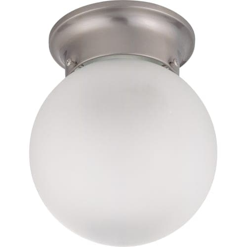 Nuvo Lighting 62 1118 Single Light 6 Wide Led Flush Mount Ceiling Fixture