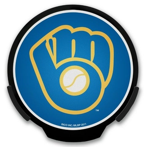 0d95197cbb96b1 Shop Milwaukee Brewers Light Up Powerdecal - Milwaukee Brewers - Free  Shipping On Orders Over $45 - Overstock - 15706369