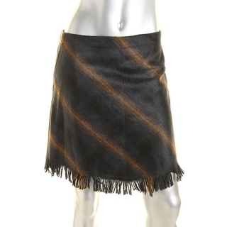 Sanctuary Womens Striped Blanket Mini Skirt