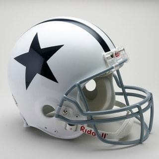 Dallas Cowboys 1960-1963 Throwback Riddell Full Size Authentic Proline Football Helmet