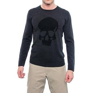 The Kooples HPUL724 Long Sleeve Crew Neck Sweater Men Regular Sweater Top