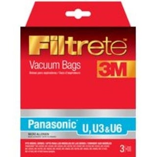 Filtrete 68701A-6 Panasonic Style U Bag