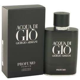 Acqua Di Gio Profumo by Giorgio Armani Eau De Parfum Spray 2.5 oz - Men