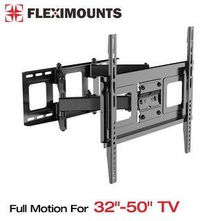 "FLEXIMOUNTS A11 Full motion Swivel Tilt HD 32""-50"" TV wall mount Bracket for Most including LED/LCD"