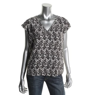 Joie Womens Blouse Silk Pattern - xs