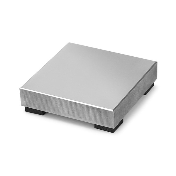 ImpressArt Steel Stamping Block, Small Size with Rubber Feet 2x2, 1 Piece, Steel