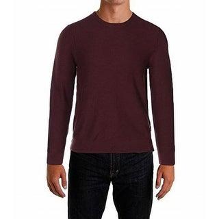 Michael Kors NEW Burgundy Red Mens Size XL Crewneck Wool Sweater