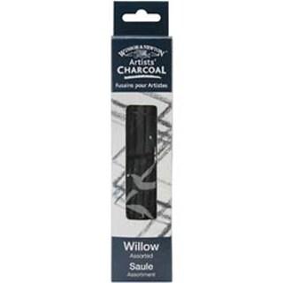 Assorted - Winsor & Newton Artist Willow Charcoal Sticks 12/Pkg