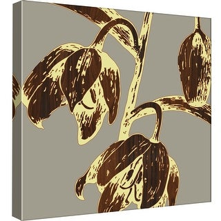 """PTM Images 9-98971  PTM Canvas Collection 12"""" x 12"""" - """"Fritillaria"""" Giclee Flowers Art Print on Canvas"""