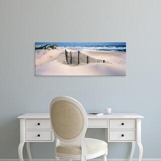Easy Art Prints Panoramic Images's 'USA, North Carolina, Outer Banks' Premium Canvas Art