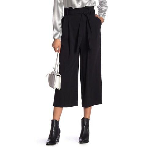 Laundry by Shelli Segal Black Women's Size 14X23 Cropped Dress Pants