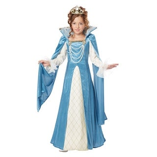 Renaissance Queen Girls Fairytale Halloween Costume