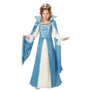 Renaissance Queen Girls Fairytale Halloween Costume