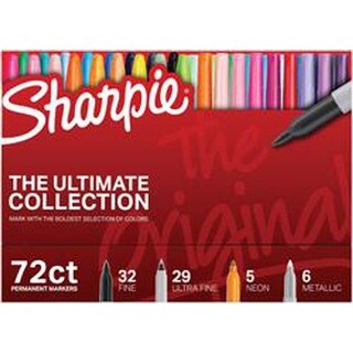Original; Assorted Colors & Tips - Sharpie Ultimate Pack Markers 72/Pkg