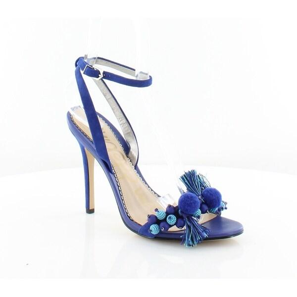 7618bf923f1c Shop Sam Edelman Alessandra Women s Heels Indigo - 8 - Free Shipping ...