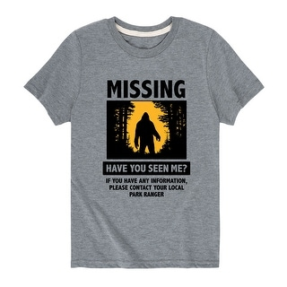 Have You Seen Me Bigfoot - Toddler Short Sleeve Tee (5T)