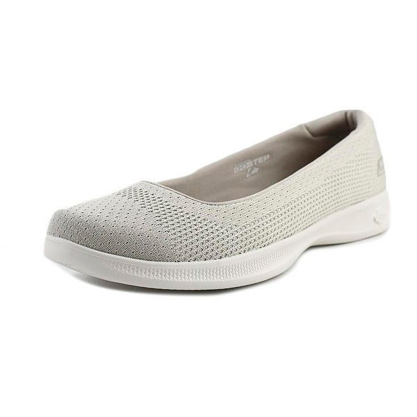 Skechers Go Step Lite - Stardust Women Round Toe Canvas Walking Shoe