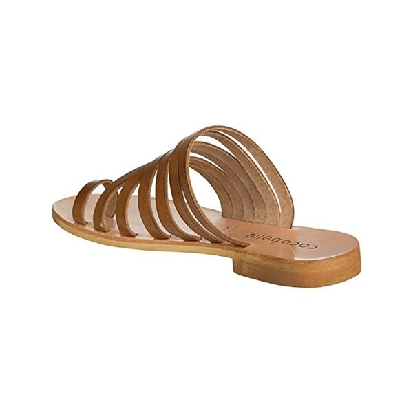 Cocobelle Womens Flat Sandals Strappy Lightweight