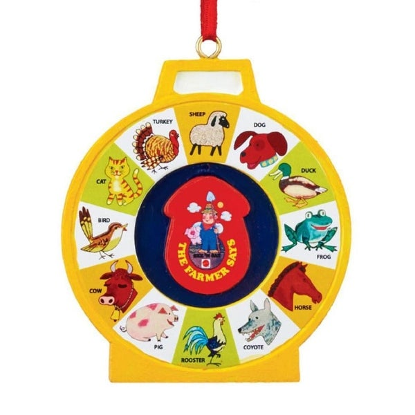 "Department 56 Fisher-Price ""See N Say"" Christmas Ornament #4040607"