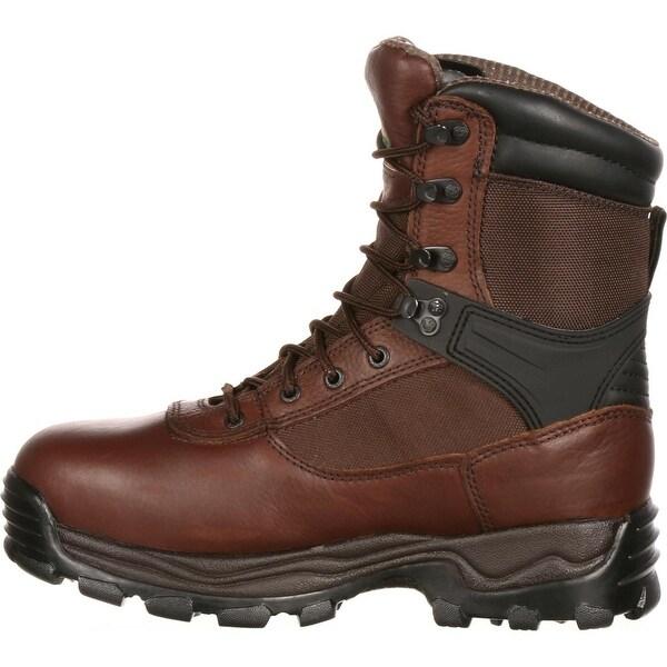 """Rocky Men/'s 9/"""" Sport Utility Pro Steel Toe Waterproof Insulated Work Boot-6486"""